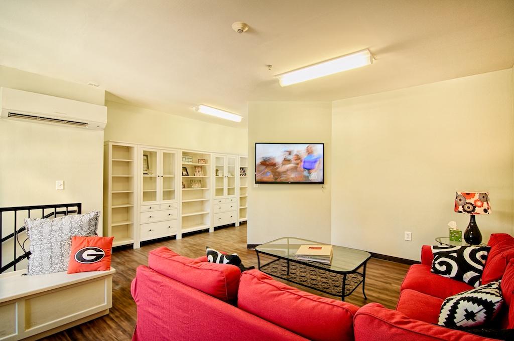 Sorority tv room