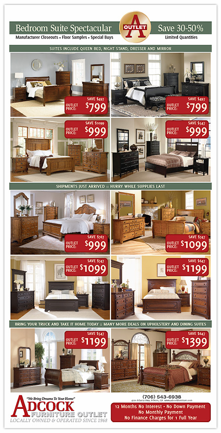 Adcock Bedroom Ad
