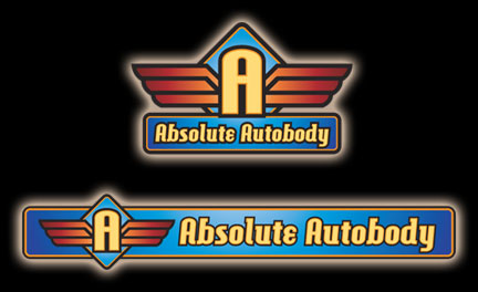Absolute Autobody Logo Design